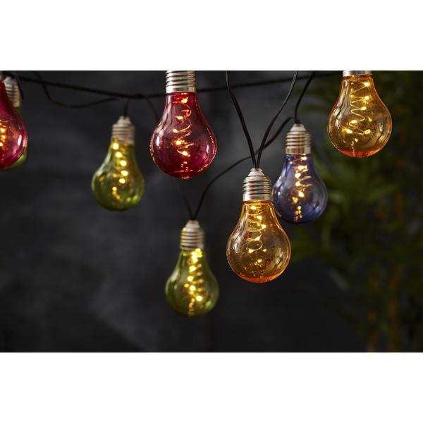 Attraktiva Solcell Ljusslinga Glow – Brisak – Låga priser på utemöbler GZ-16